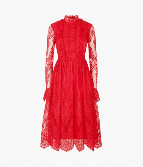 Simonetta Dress Cotton Lace