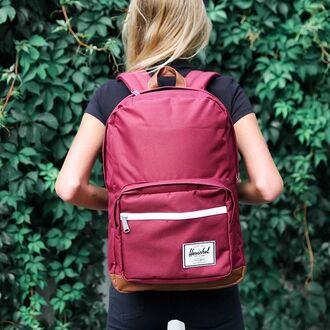 bag herschel supply co peppermayo herschel supply co. herschel bag herschel backpack backpack back to school burgundy maroon bag maroon backpack