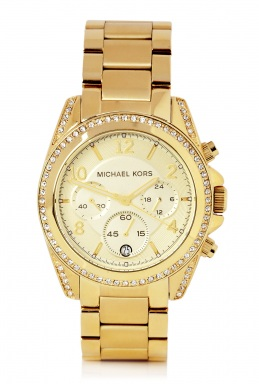 Michael Kors Watches | Gold Runway Watch with Glitz by Michael Kors Watches