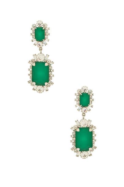 Elizabeth Cole earrings metallic silver jewels