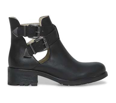 Cut out boots noir