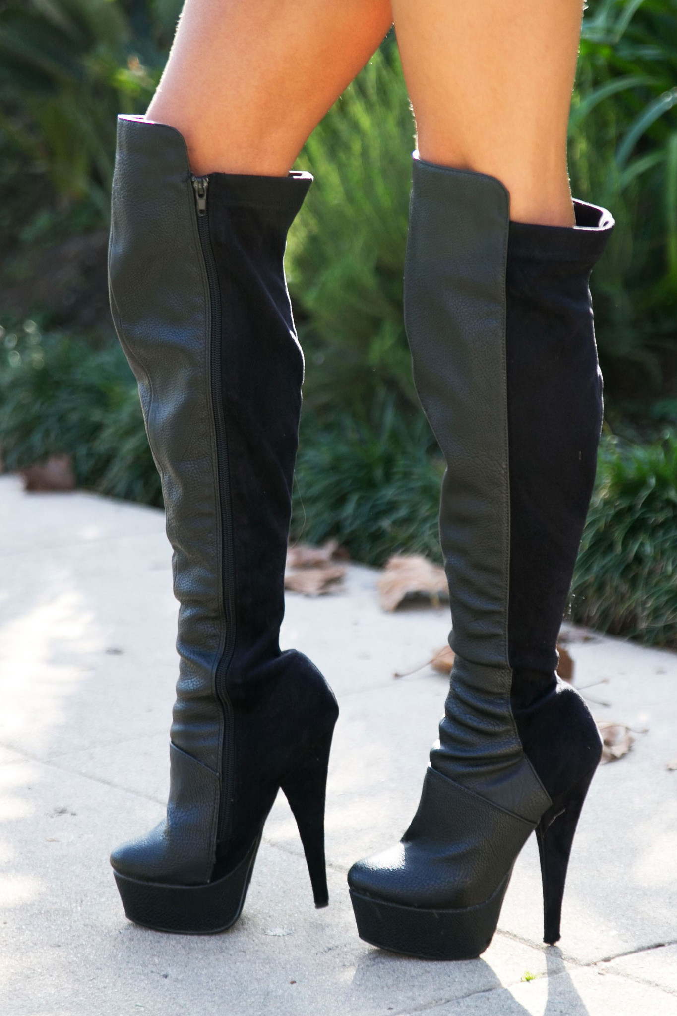 Brin knee high boots