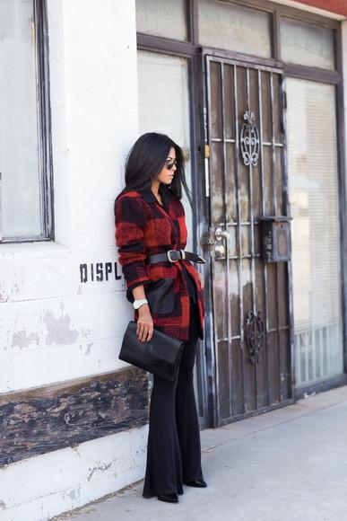 walk in wonderland blogger bag jacket Belt
