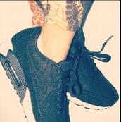 shoes,tumblr,black and white,air max,nike,black,white,sneakers,nike air max 90