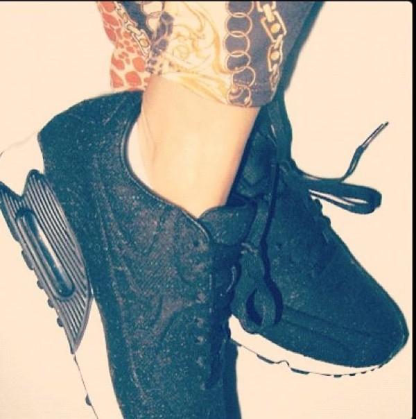 shoes tumblr black and white air max nike air max black white sneakers nike air max 90 nike air max black