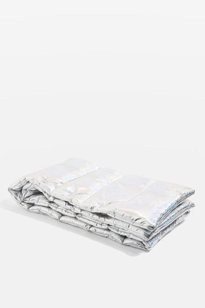 Topshop scarf silver