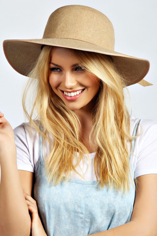 Imogen Floppy Flannel Hat