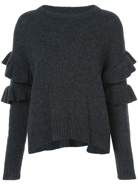 Cinq a Sept sweater women wool grey