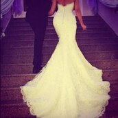 dress,bride,mermaid,bridal gown,wedding dress,lace wedding dress,fishtail dress,white,sparkle,out,back