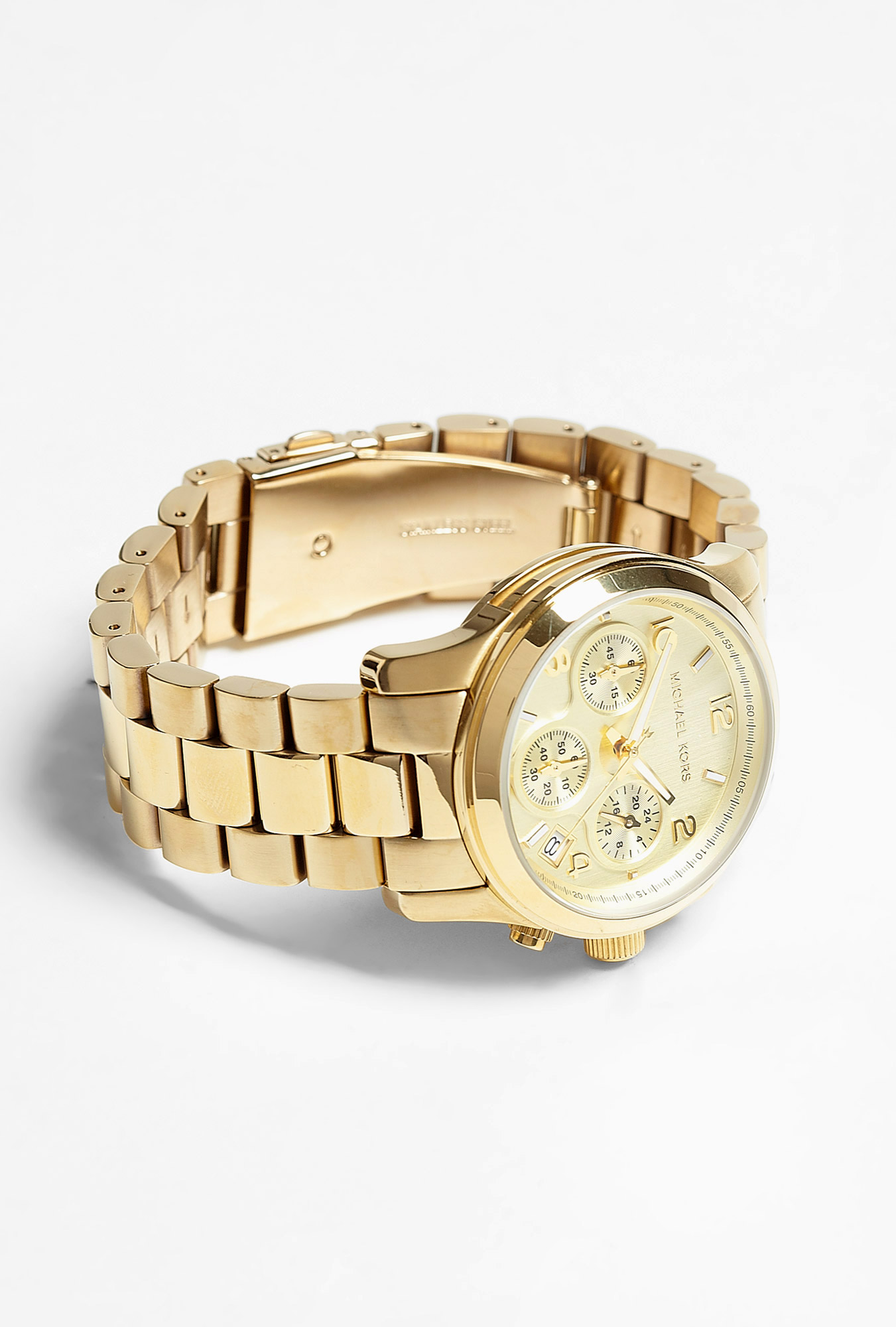 gold chronograph by michael kors watches buy
