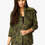 Hooded Spiked Camo Jacket | FOREVER21 - 2026608297