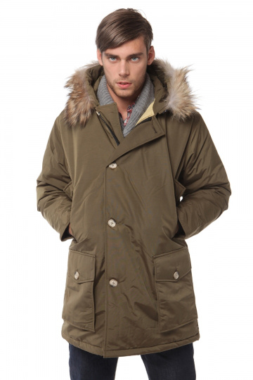 Men's Arctic Anorak DOWN coats Brand men Long Warm Down Jacket ...