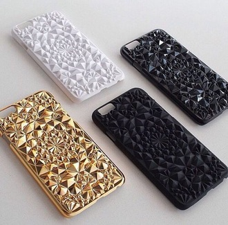 phone cover gold white black matte studs iphone 5 case cases mandala texture