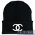 CHANEL BEANIE (BLACK) on The Hunt