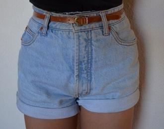 shorts denim denim shorts blue blue shorts belt black style flowers roses skater girl skateboard denim overalls crop tops
