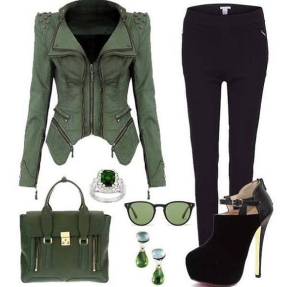 jacket green jacket help me please! help green