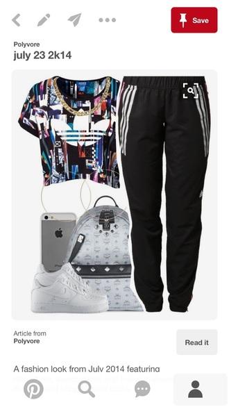 pants adidas sweatpants adidas black