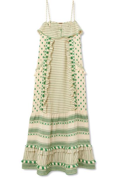 Dodo Bar Or dress maxi dress maxi light cotton green