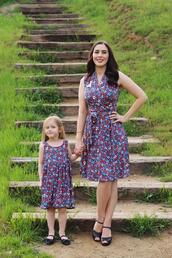 southerncaliforniabelle,blogger,dress,shoes,make-up,vintage,mother and child