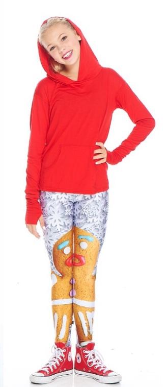 leggings gingerbread man snowflake leggings gingerbred woman holiday season