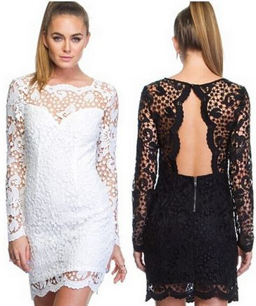 Melissa Lace Bodycon Dress