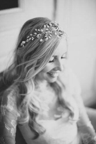 jewels flower headband headband headpiece boho flower crown wedding hairstyles hipster wedding country wedding