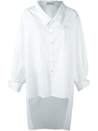 shirt oversized shirt oversized white top