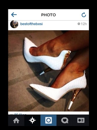 shoes white high heels high heels white black heels promshoes promheels nice
