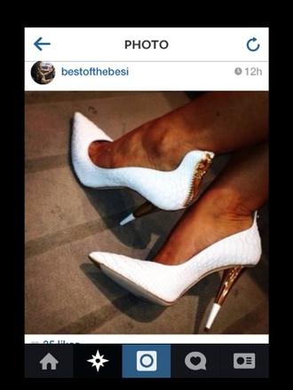 shoes high heels white high heels white black heels promshoes promheels nice