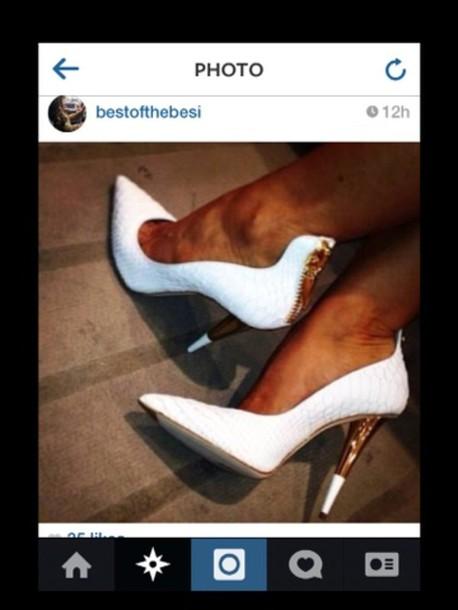 shoes white high heels high heels white black heels promshoes promheels nice