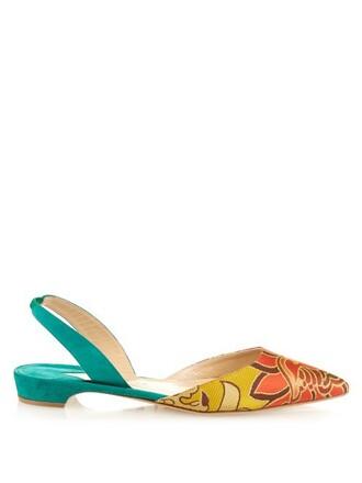 jacquard sandals shoes