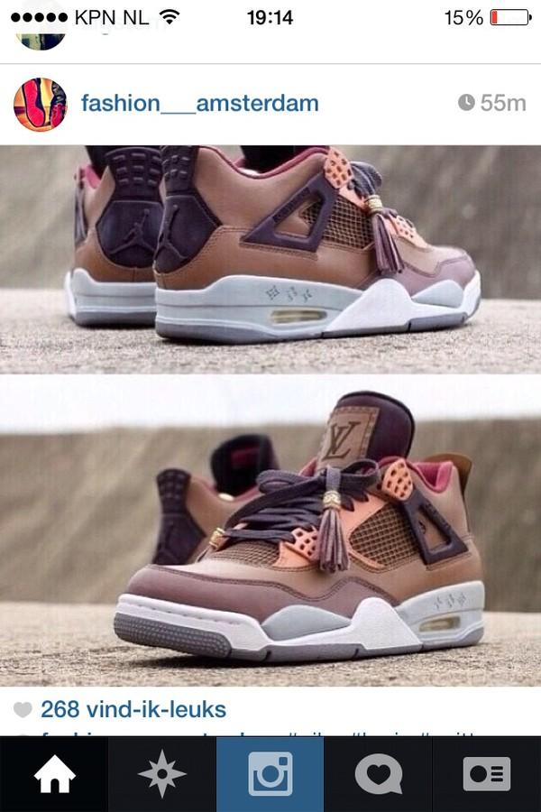 shoes jordans louis vuitton