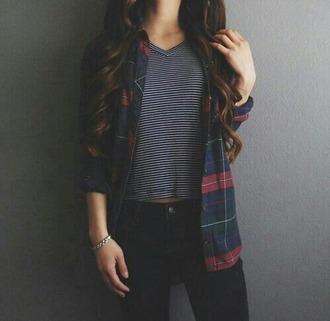 shirt flannel shirt pants
