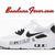 Custom Black Bandana Nike Air Max 90 Ultra Shoes White/Black/Black, #Nike #Shoes, by Bandana Fever