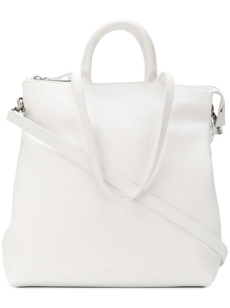 Marsèll women leather white bag