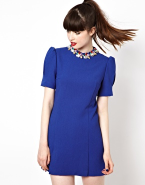 sister jane | Sister Jane Crystal Crown Shift Dress at ASOS