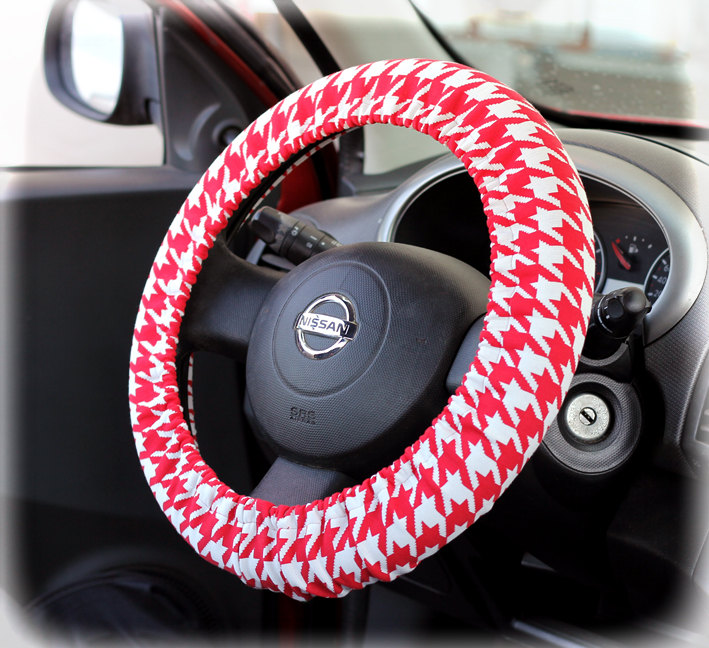 Steering wheel cover bow wheel car accessories lilly girls interior heated aztec monogram tribal Interior car accessories for girls