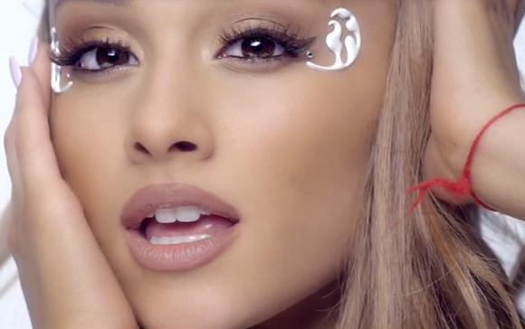 nude make-up lipstick ariana grande break free music video flawless ariana grande lipliner
