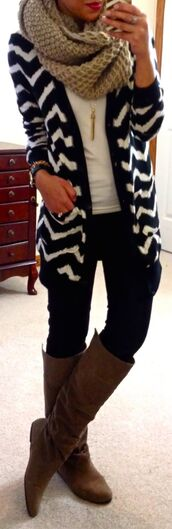 sweater,cardigan,chevron,jacket,hipster,fly,classic,perfect lazy day outfit,black and white