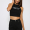 Bossy the label - congrats on your face halter - black