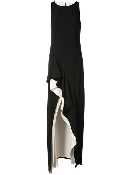 Halston Heritage dress evening dress women black