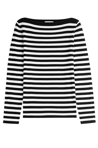 pullover wool stripes sweater