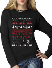 sweater,stranger things ugly sweater,011,ugly christmas sweater
