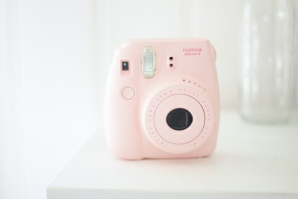 home accessory camera photography girly pastel pink