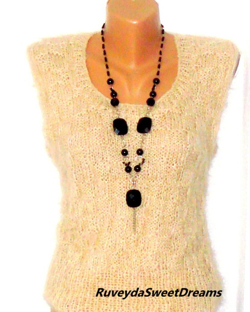 Sweaters sweater blouse perforated sweater clothing handmade sweater