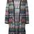 Missoni zigzag cardi-coat, Women's, Size: 40, Polyester/Cupro/Viscose