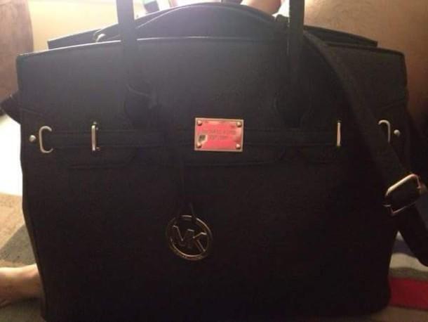 bag black michael kors purse