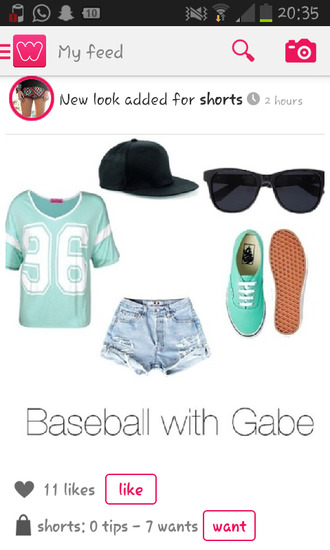 shirt baseball t-shirt summer outfits 36 shorts
