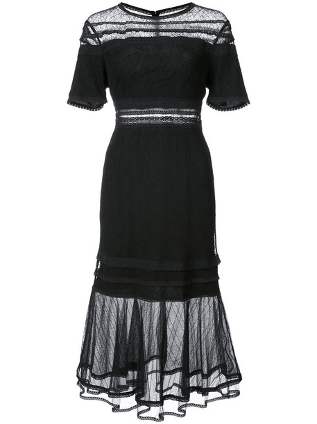 Jonathan Simkhai dress sheer women black