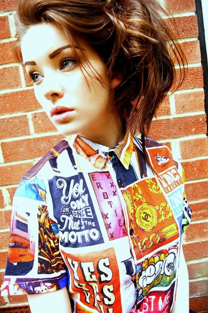 Shirt Blogger Tumblr Clothes Indie Tumblr Girl